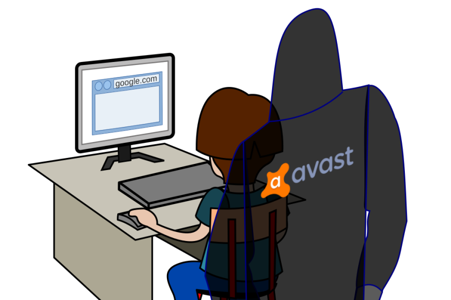 Avast watching you while browsing the web